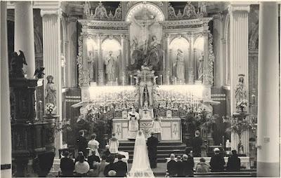 Kerkelijke inzegening huwelijk Bert en Noor Wunderink-Welling