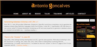 Java EE Blog to follow