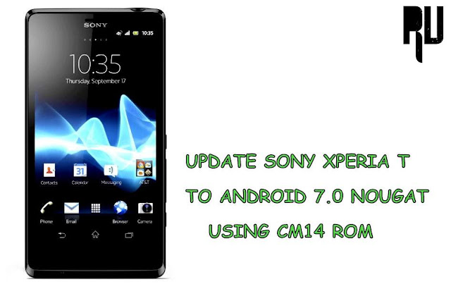 Update-xperia-t-to-nougat-7.0