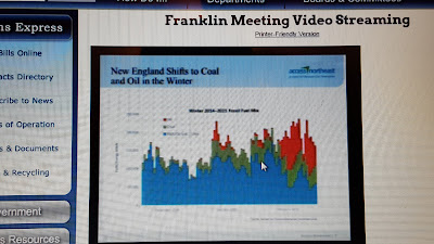 screen grab of Spectra Energy presentation via the video broadcast