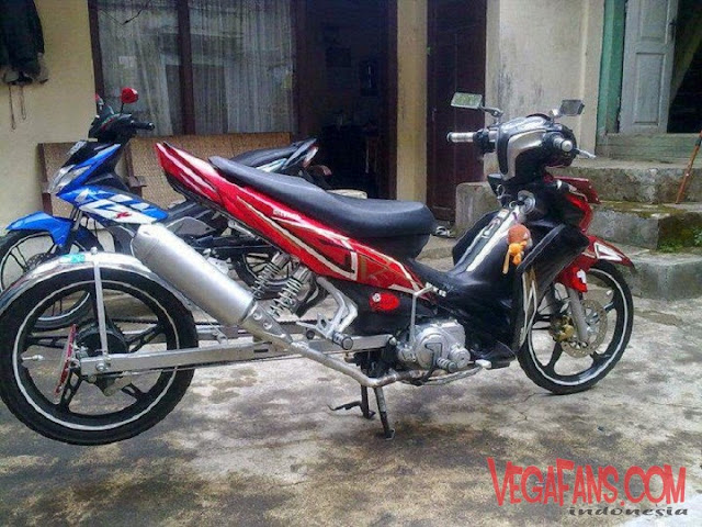 Modifikasi Jupiter Z New Merah Modif Paling Unik