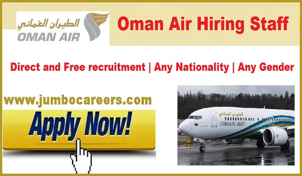 Oman Air jobs for Indians, Current job vacancies in Oman,