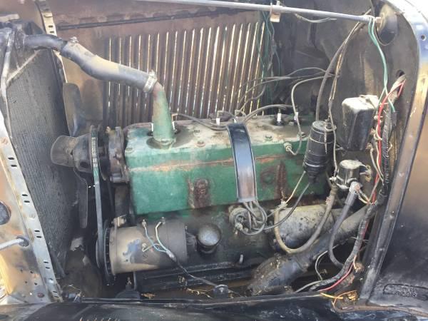 1931 Rockne 65 Engine