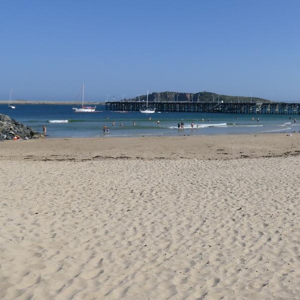 Coffs Harbour, Ostküste, Australien, Strand, Meer, Wind