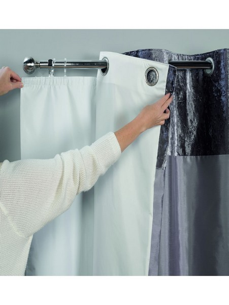 blackout liner curtain