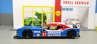 1/64 Nissan GT-R LM Nismo No.21 LMP1 Le Mans