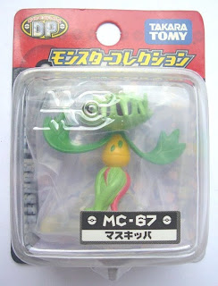 Carnivine Pokemon figure Tomy Monster Collection MC series