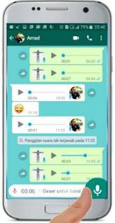 Cara Mengatasi Tidak Bisa Kirim Pesan Suara / Voice Chat di WhatsApp