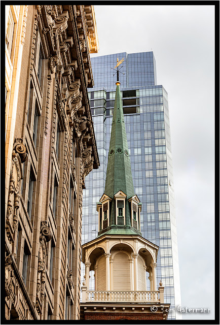 Steeple of the Old South Meeting House - Boston - June 2017