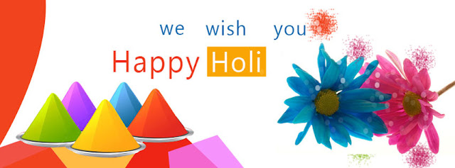Holi Wallpaper for Facebook Timeline