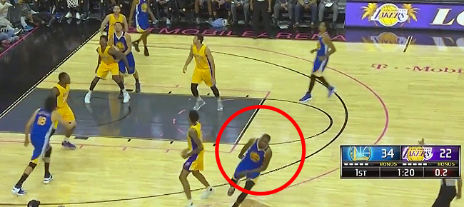 Kevin Durant Celebrates 3-Point Shot Before It Goes In (VIDEO)
