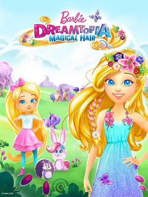 Barbie Dreamtopia 2016 DVDRip 150Mb Dual Audio 480p