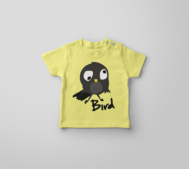 Bird Baby T-Shirt Mockup