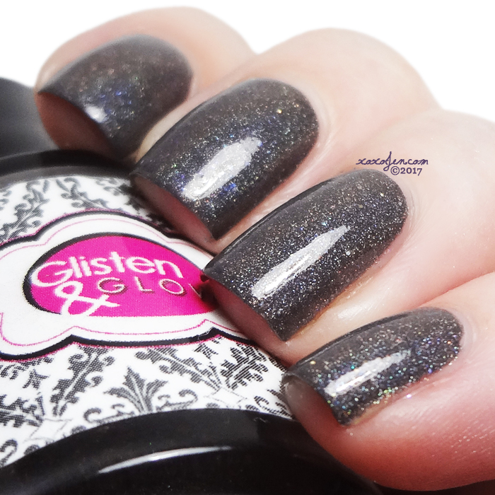 xoxoJen's swatch of Glisten & Glow Quick Step in Queens