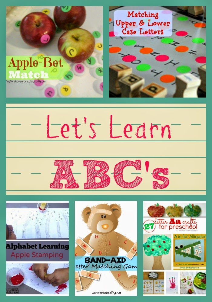 Let's Learn ABC's on Mom's Library