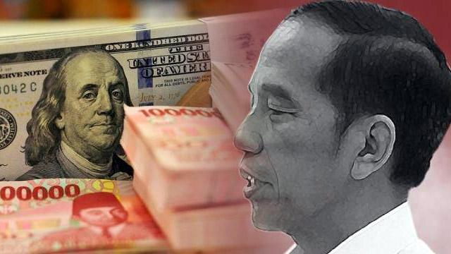 Jokowi Bakal Dikalahkan Dolar, Bukan Prabowo