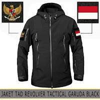 Jaket Motor Waterproof Tactical Revolver Timnas Indonesia