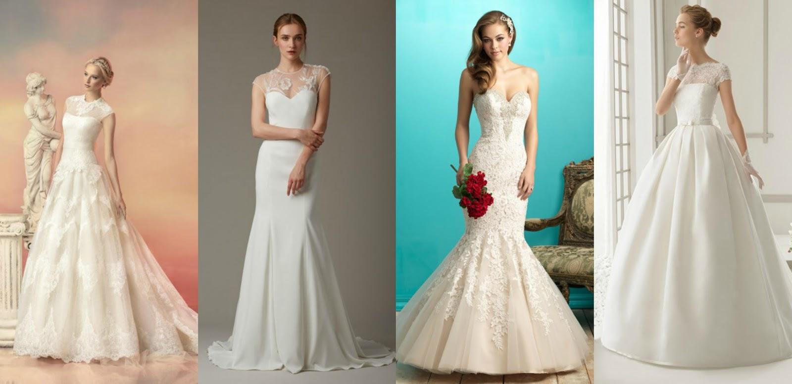 Fashionable Modern Day Vintage Wedding Dresses ...