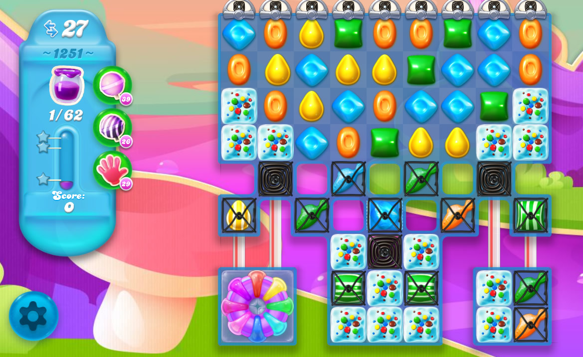 Candy Crush Soda Saga level 1251