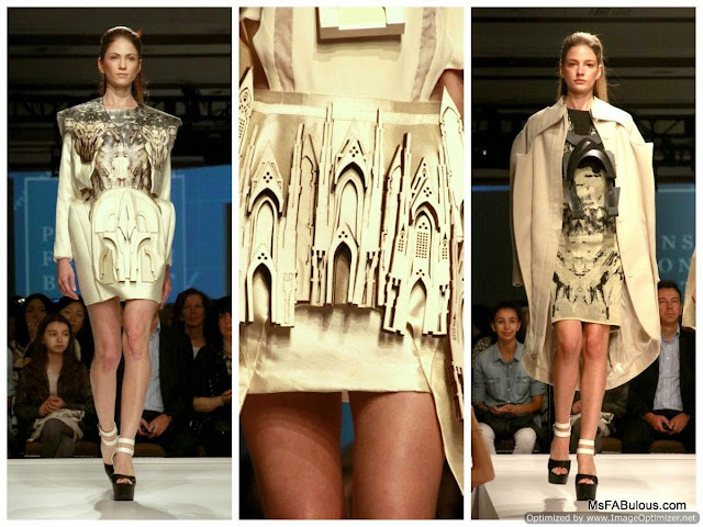parsons laser cut fashion