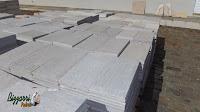 Pedra São Tomé serrada branca - 22x47 - R$ 90,00 o m² Pedra São Tomé serrada mesclada - 22x47 - R$ 90,00 o m² Pedra São Tomé serrada amarela - 22x47 - R$ 90,00 o m²