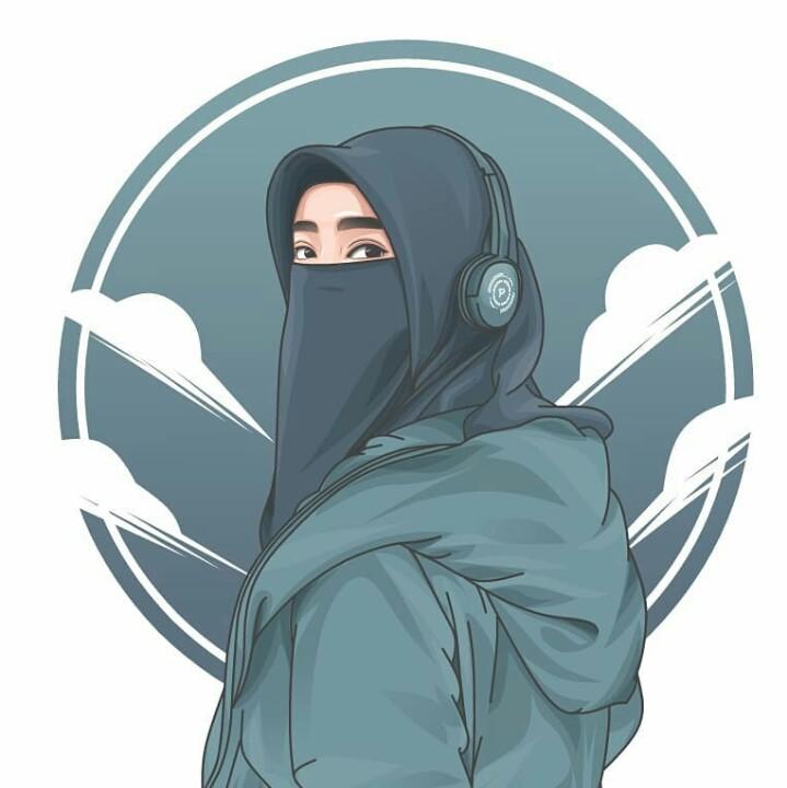 83 Gambar Animasi Wanita Muslimah Keren Terlihat Keren