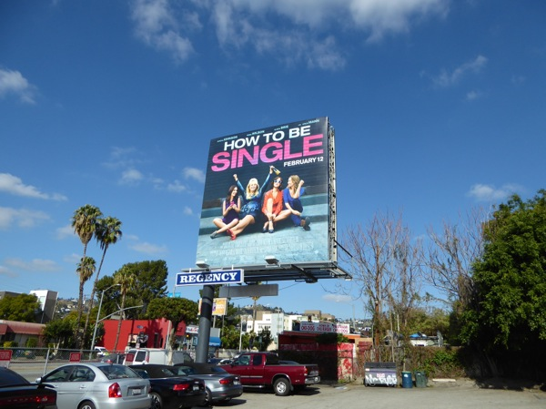 How to be Single film billboard
