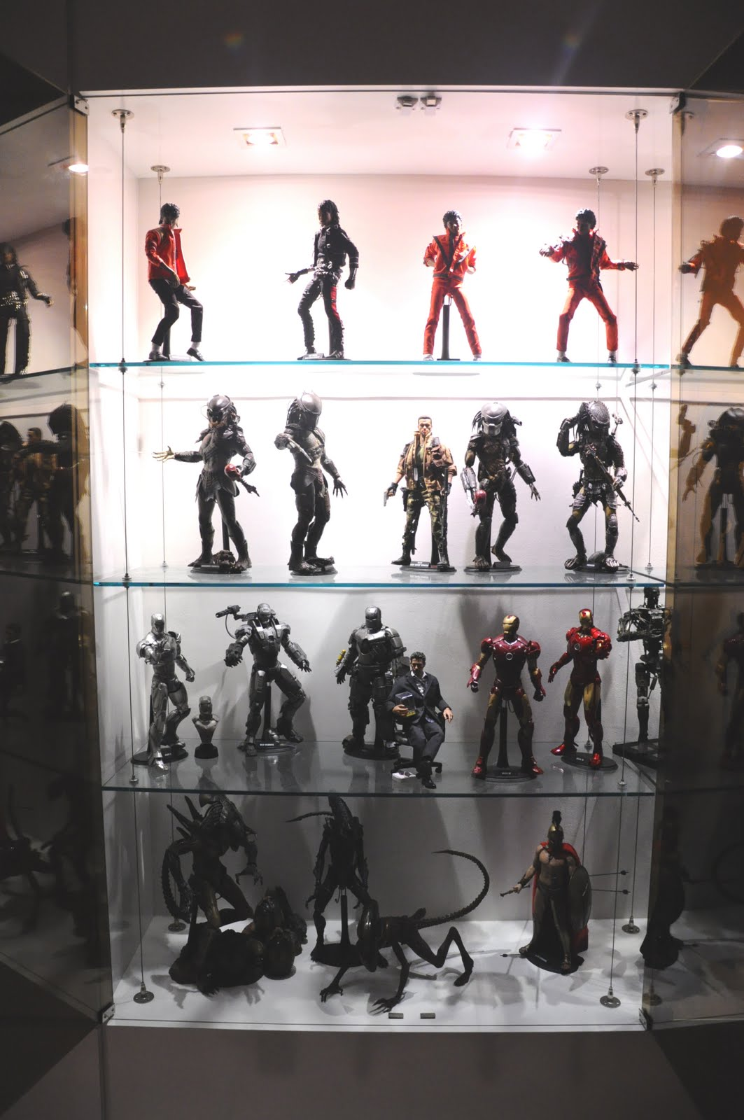 My Hot Toys Collection Photography My Display Cabinet And Hot