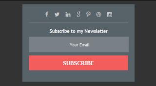 форма подписки на рассылку по email