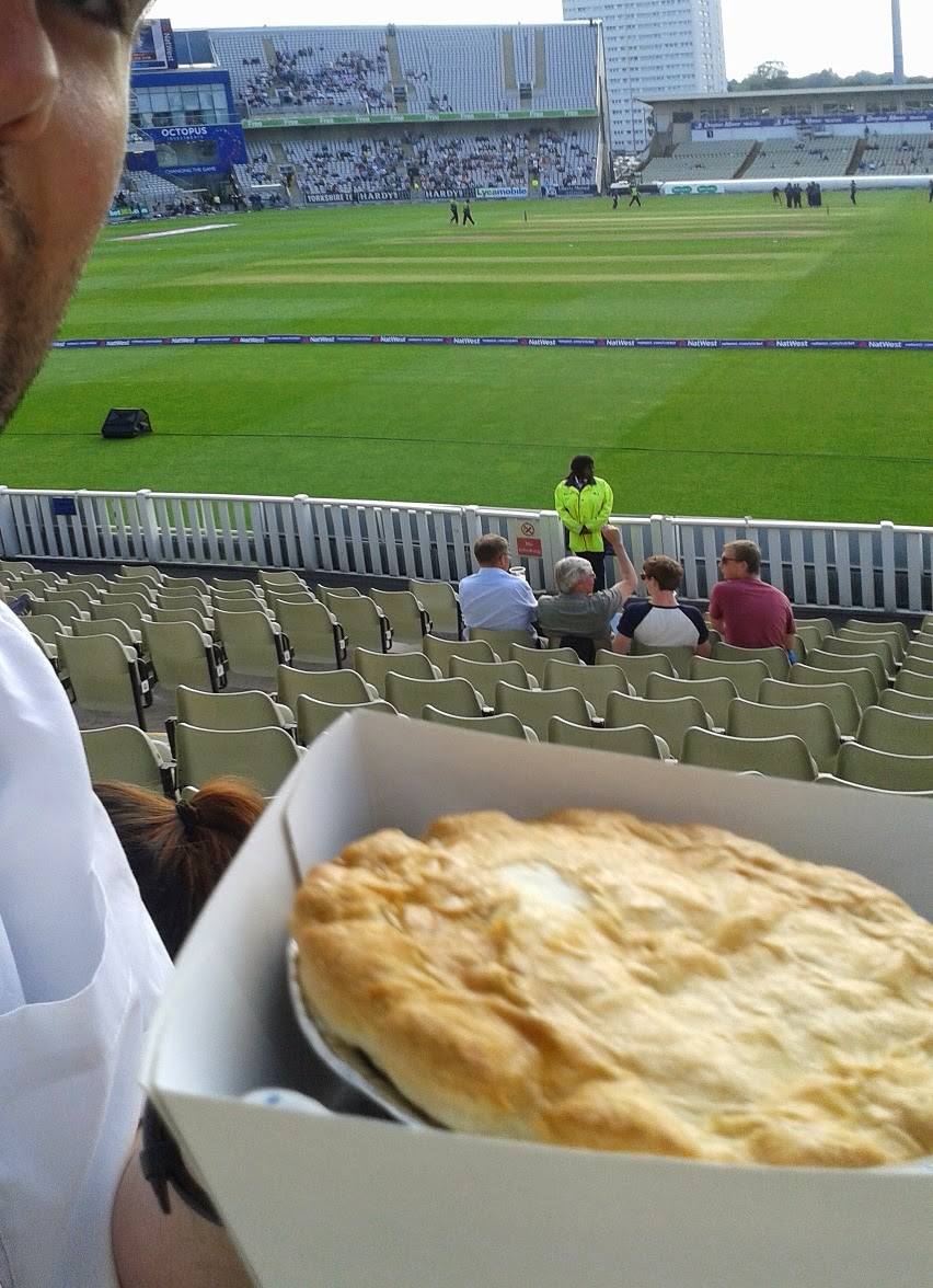 Pie Review at Edgbaston Cricket Ground