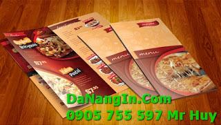 Địa chỉ in ấn Menu rẻ đẹp tại Đà Nẵng giá tốt nhất 43