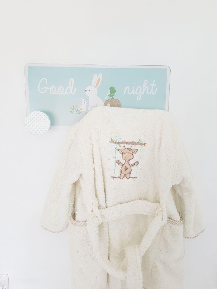peignoir pour bébé la compagnie du blanc