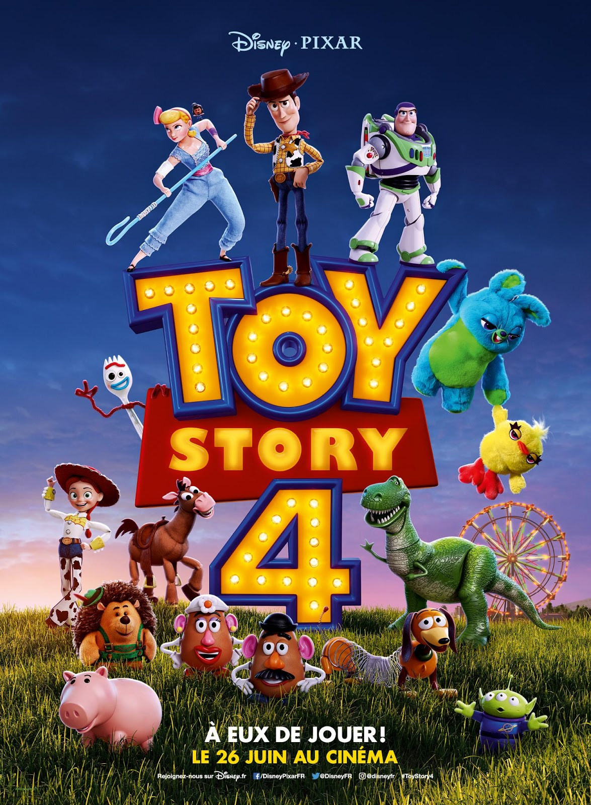 Pixar Toy Story 4: 'Toy Story 4' International French & Chinese New Year