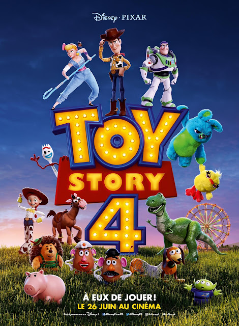 Toy Story 4 French International Poster