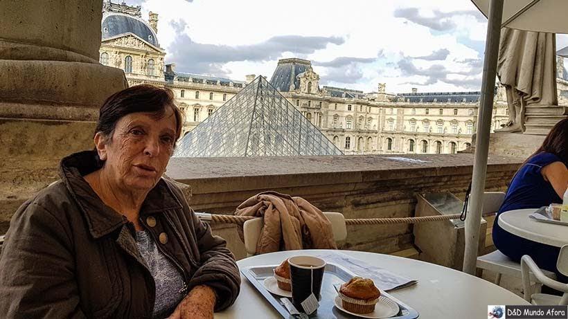 Chá da tarde no Louvre - Louvre sem fila: como visitar o museu em Paris