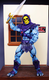Cell Shaded Mini-Comic Skeletor (Alfredo Alcala style)