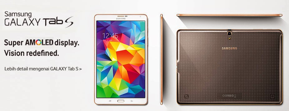 harga samsung galaxy tab s, samsung galaxy tab s, spesifikasi samsung galaxy tab s, Harga Tablet Samsung,