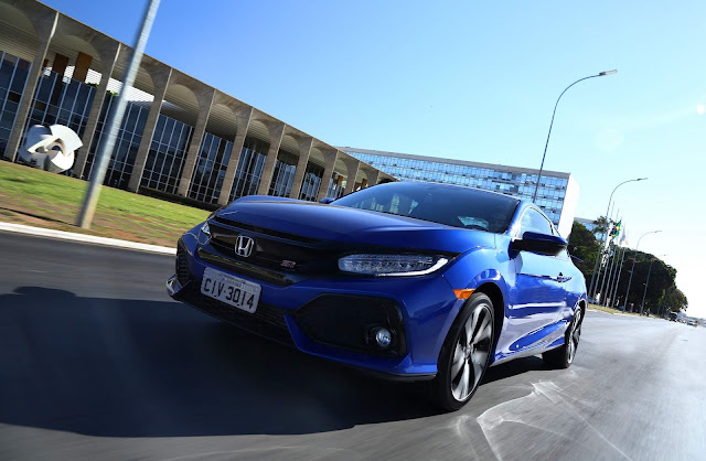 Honda Civic Si Brilliant Sporty Blue Metallic - Itamaraty - Brasília