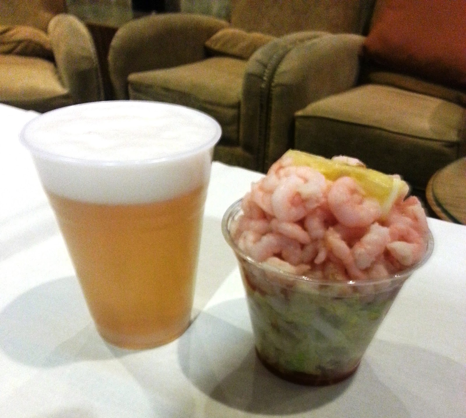 PBR And A Shrimp Cocktail For 99 Cents No Longer Available