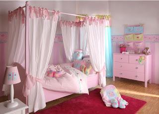 Kumpulan Model Kamar Tidur Anak Perempuan Nampak Cantik