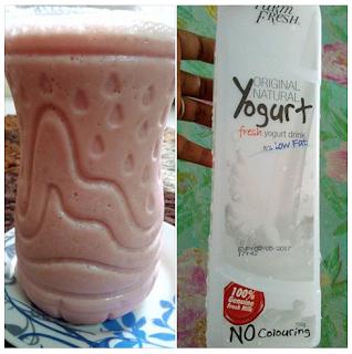 Resepi Air Yogurt Strawberry Sedap