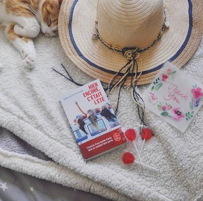 Avis sur le roman Hier encore, c'était l'été de Julie de Lestrange  Coin des licornes Blog lifestyle Toulouse
