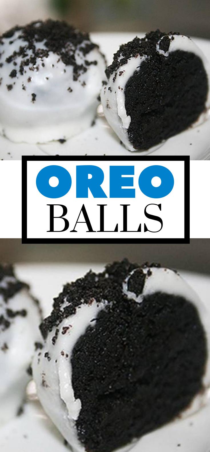 How To Make Oreo Balls Cookie Recipe | No Bake #oreo #nobake