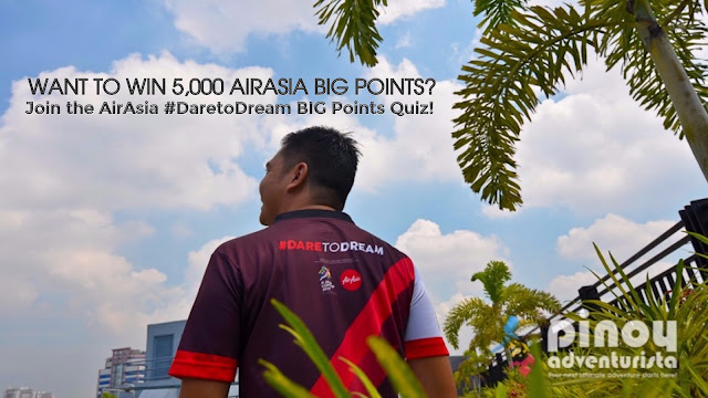 Win 5,000 AirAsia Big Points? Join the AirAsia #DaretoDream BIG Points Quiz!