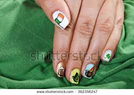 Nail Designs for Saint Patrick's Day