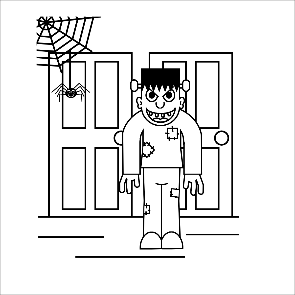 coloring pages 28 october attack - photo#9
