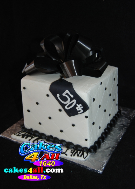 Happy 50th Birthday Masculine Man Cake Dallas