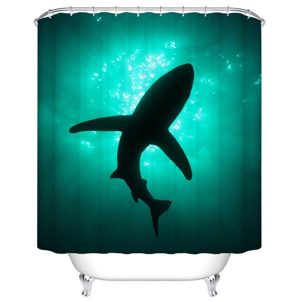 The great white shark / El gran tiburon blanco: Cortina de Ducha ...