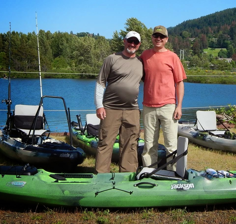 Gorge Fly Shop Blog: Kayaks, Pontoons and Bass - Why Not!