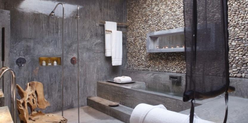 déco salle de bain bois flotte